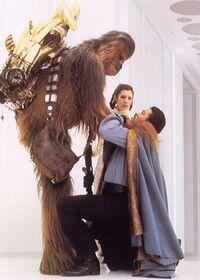 Chewbacca Choking Lando