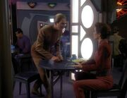 Odo and Kira discuss Jem&#39;Hadar youth