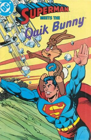 Los comics mas absurdos de la historia 300px-Superman_Meets_the_Quik_Bunny_1