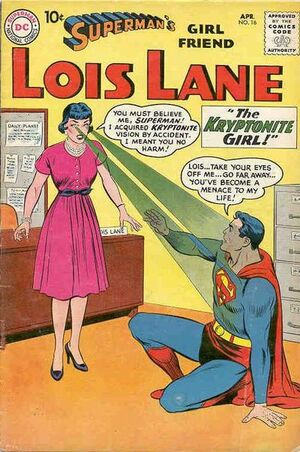 Cover for Superman&#39;s Girlfriend, Lois Lane #16