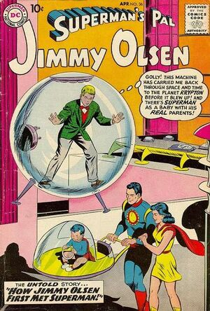 Cover for Superman&#39;s Pal, Jimmy Olsen #36