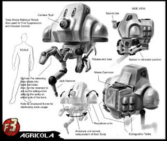 Agricola robot