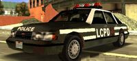 Liberty C. Police Car LCS