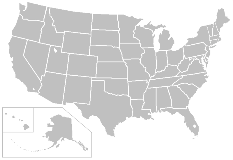 blank map of usa. map of united states blank.