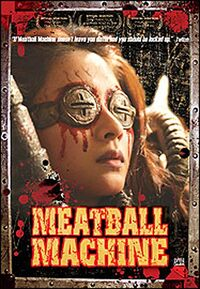 Meatball machine dvd