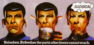 Spock Heineken