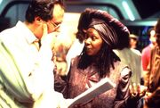 Rick Berman and Whoopi Goldberg