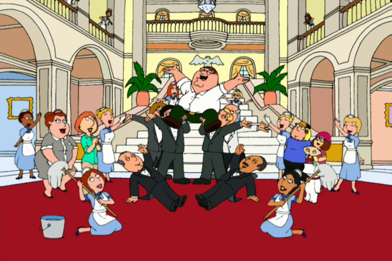 Family Guy Season 2 Episode 1 Peter, Peter, Caviar Eater
