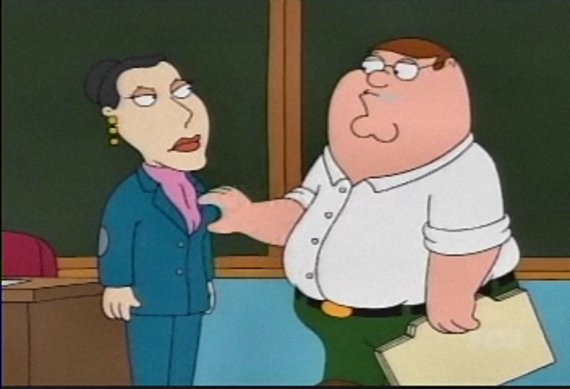 Family Guy Season 2 Episode 8 I Am Peter, Hear Me Roar
