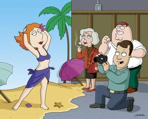 Family Guy Season 4 Episode 10 Model Misbehavior