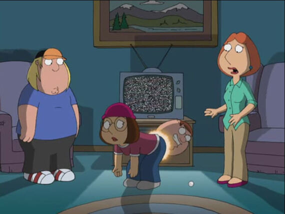 Family Guy Season 4 Episode 26 Petergeist