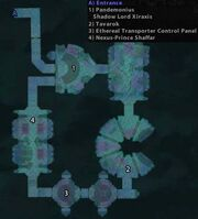 Mana Tombs map