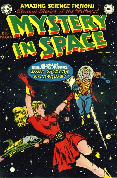 Fantasy League Book Cover : Mystery in space vol dc comics database