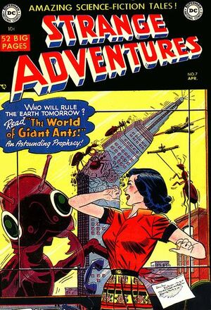 Cover for Strange Adventures #7