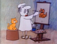 Painter-cats
