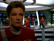 Janeway aboard Excelsior