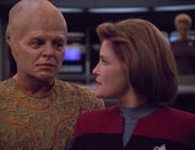 Arturis and Captain Janeway