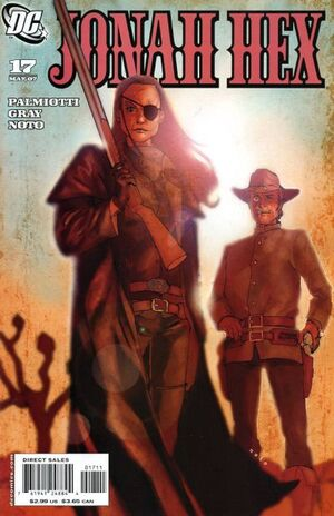 Cover for Jonah Hex #17