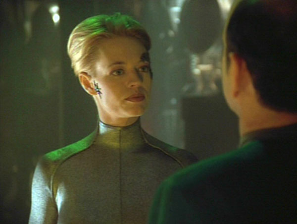 Seven of Nine De-assimilated