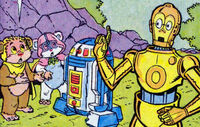Droids ewoks