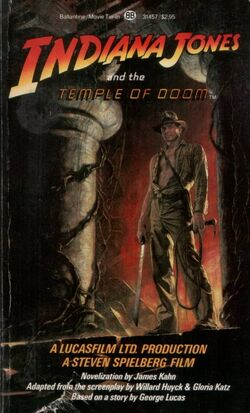 IndianaJonesAndTheTempleOfDoom(Novel)