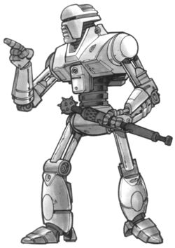 501-Z police droid EGTD