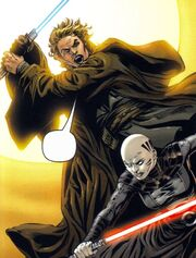 Ventress vs Skywalker