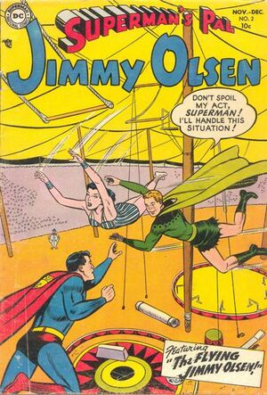 Cover for Superman's Pal, Jimmy Olsen #2
