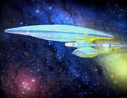 USS Enterprise-D Gemlde