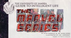 Guide to Intelligent Life - Marvel G1
