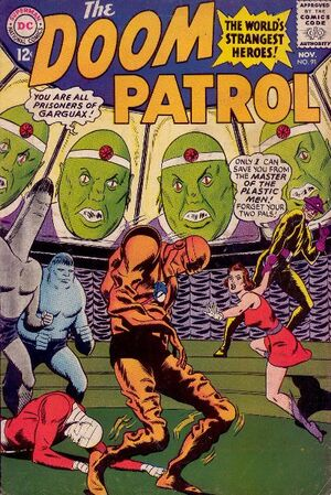 Cover for Doom Patrol #91