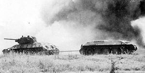 Sovietic T34 battle of kursk