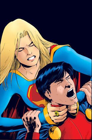dc wonder girl and super boy relationship