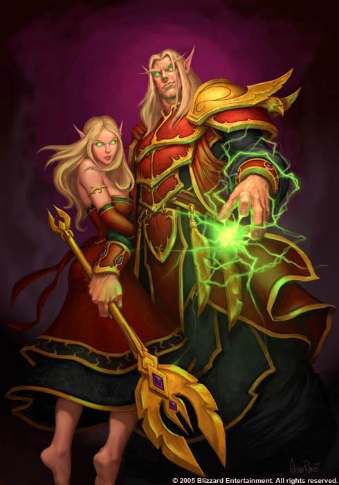 world of warcraft blood elf