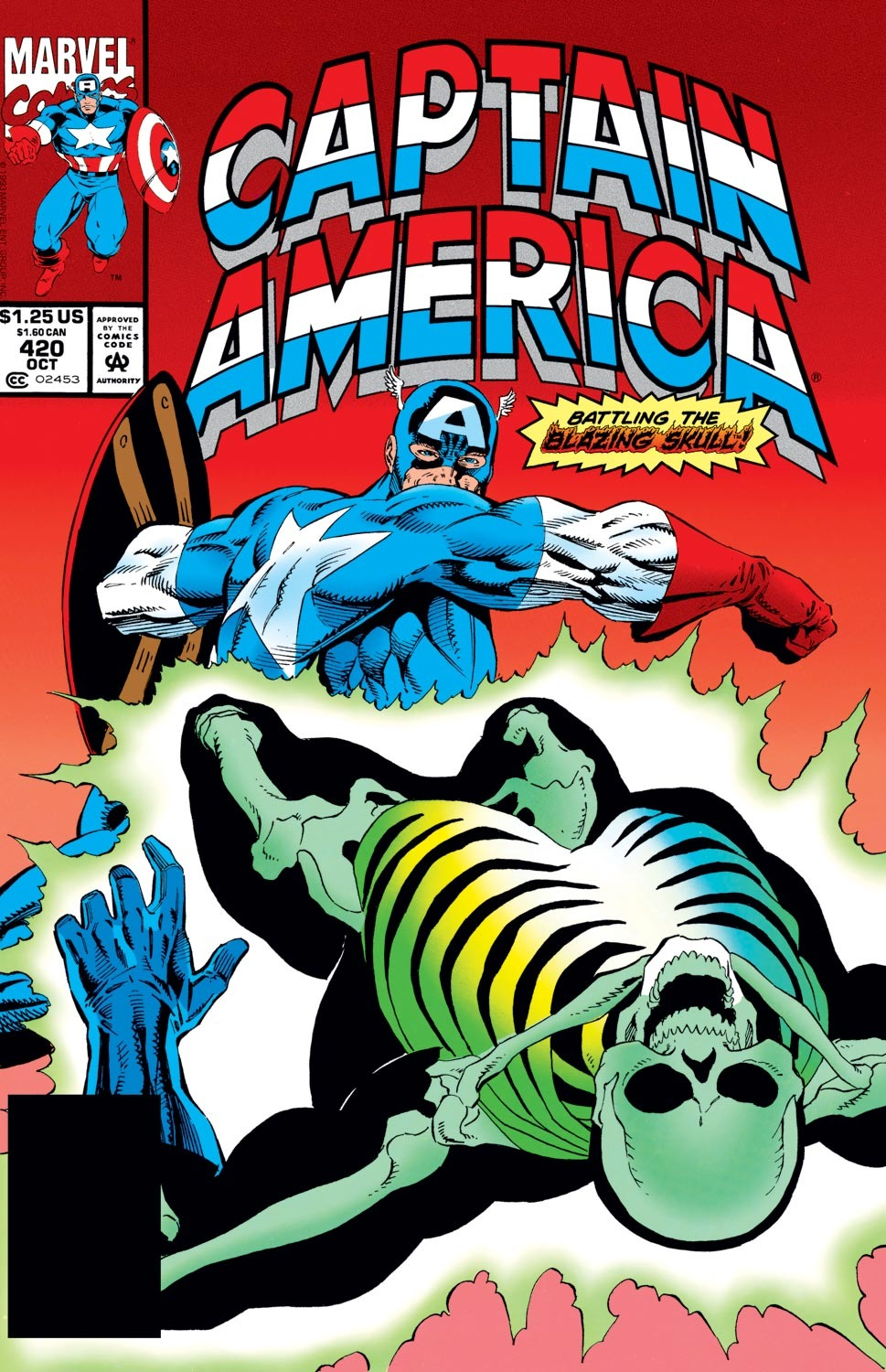Captain America Vol 1 420