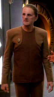 Odo in Uniform