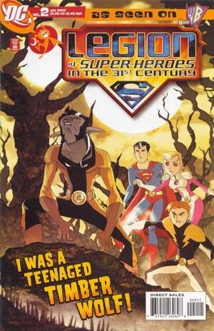 Cover for Legion of Super-Heroes in the 31st Century #2