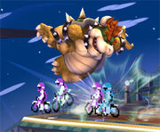 SSBB Assist Trophy - Excitebike