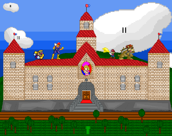 Peach&#39;s Castle pictures part 1