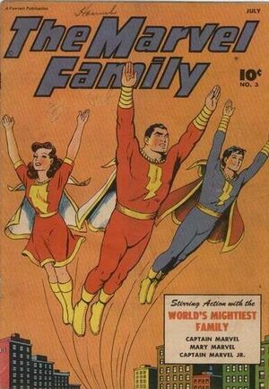 Cover for Marvel Family #3