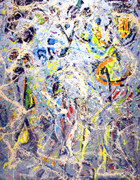Jackson Pollock Galaxy