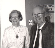 Sheila and John Maynard Smith