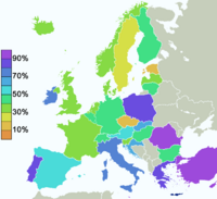 Europe belief in god