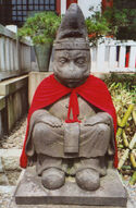 Tokyo monkey statue