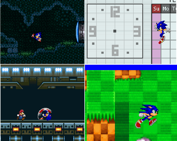 SSBB Sonic pictures