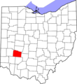 Map of Ohio highlighting Greene County.png