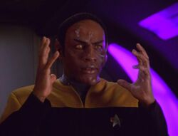 Tuvok's blood boiling