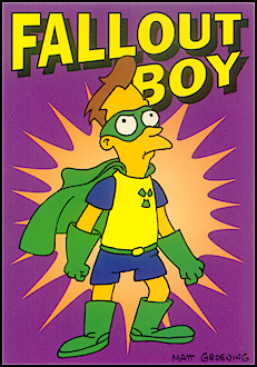 Fall Out Boy Simpsons