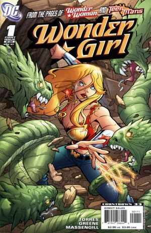 Cover for Wonder Girl #1