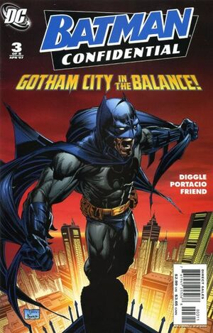 Cover for Batman Confidential #3 (2007)